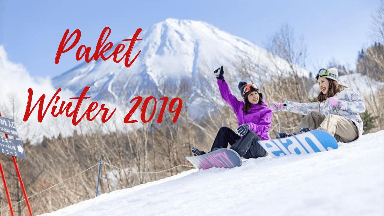 paket tour jepang musim dingin winter 2019