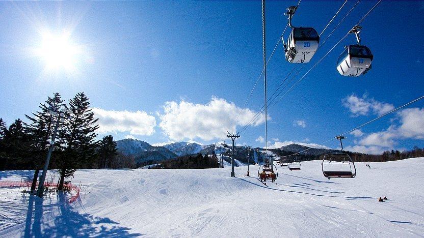 Furano Ski Area Hokkaido Jepang
