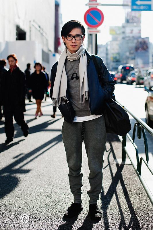pakaian dingin pria jepang