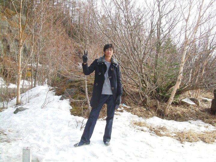 pakaian dingin sewaktu di jepang