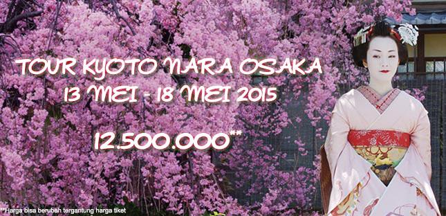tour jepang mei kyoto nara osaka 2015