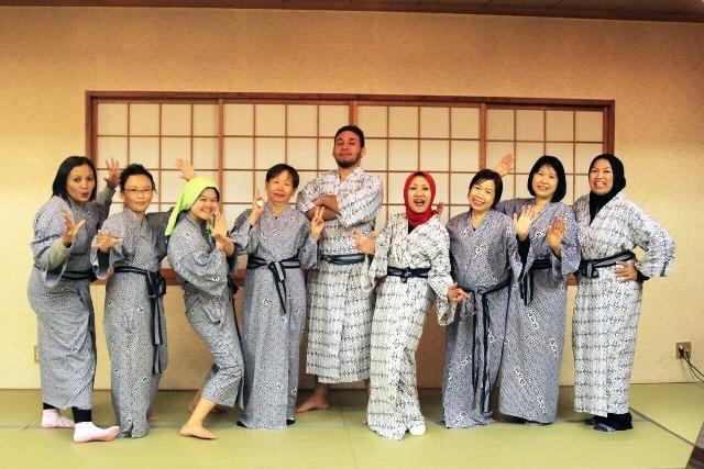 Foto Peserta di Penginapan Kawaguchiko Fuji
