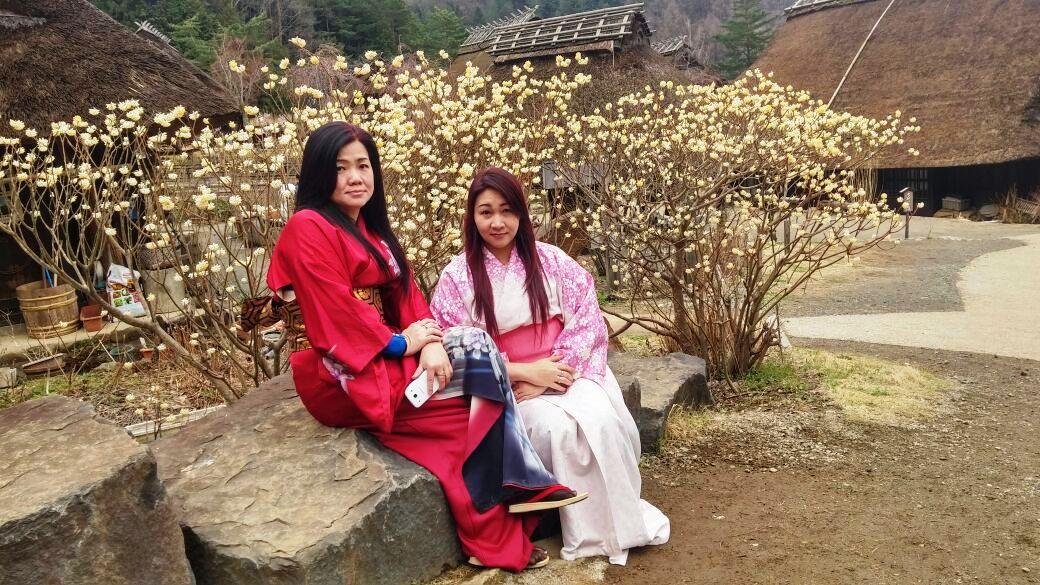 Geisha nya Tour ke Jepang Sugoi..