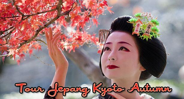 paket tour ke jepang november kyoto autumn 2015