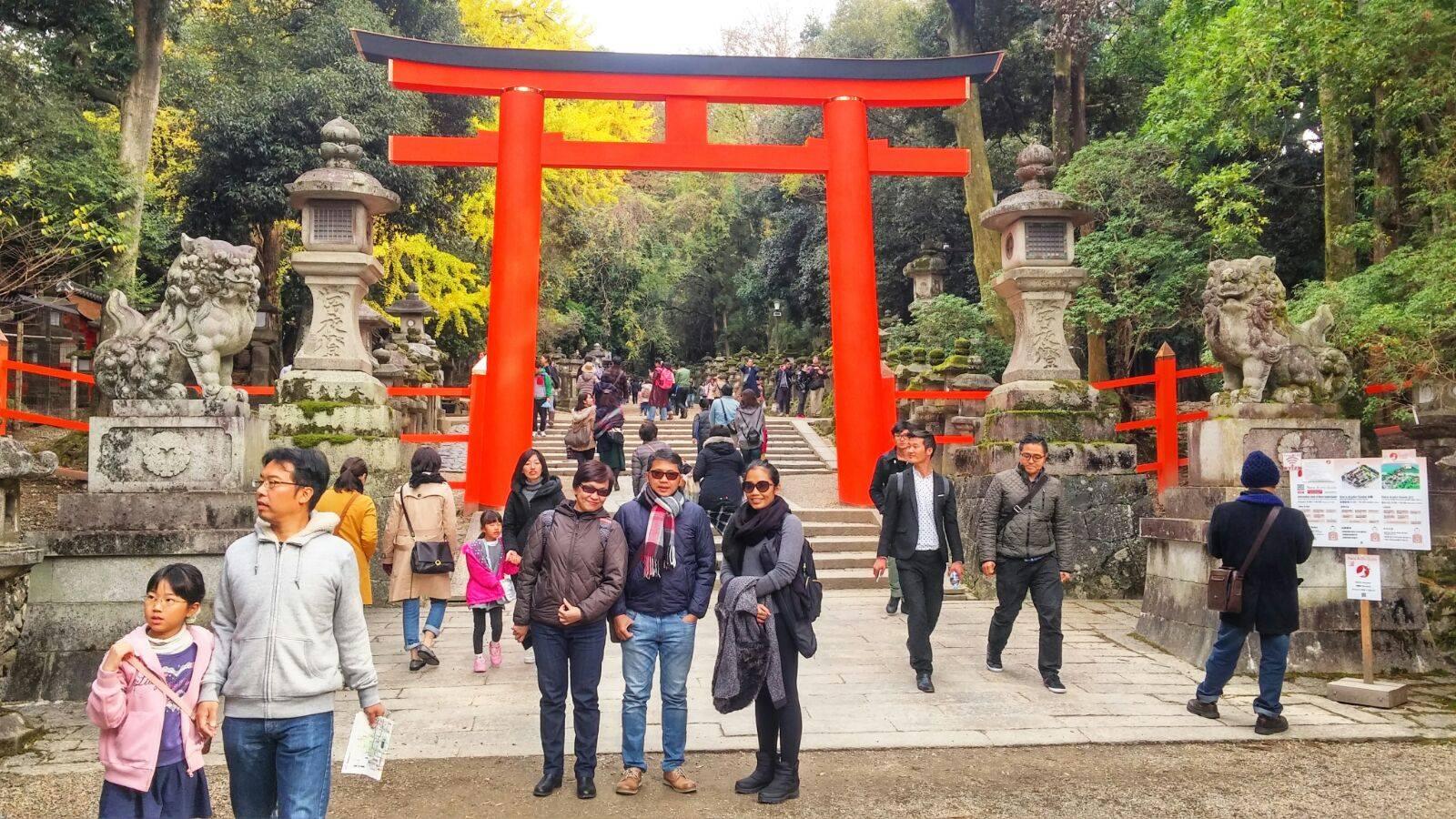 tour ke jepang paket autumn 2015 osaka kyoto nara