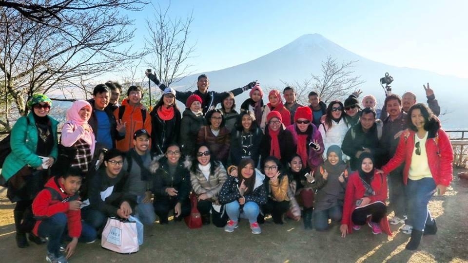 Dokumentasi Tour Jepang NewYear Osaka Kyoto Nara Tokyo Fuji 2016