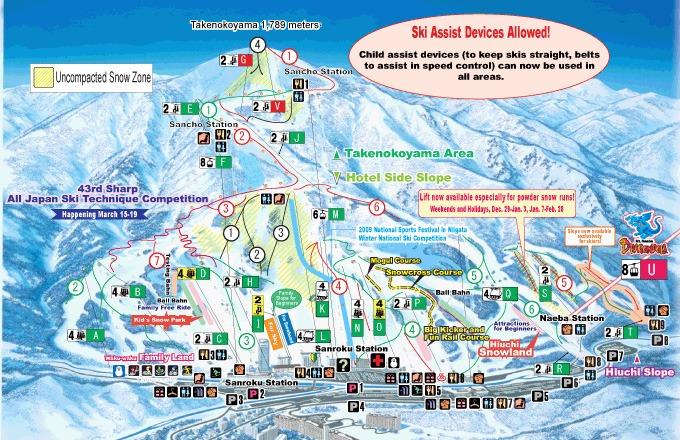 naeba ski resort di niigata jepang