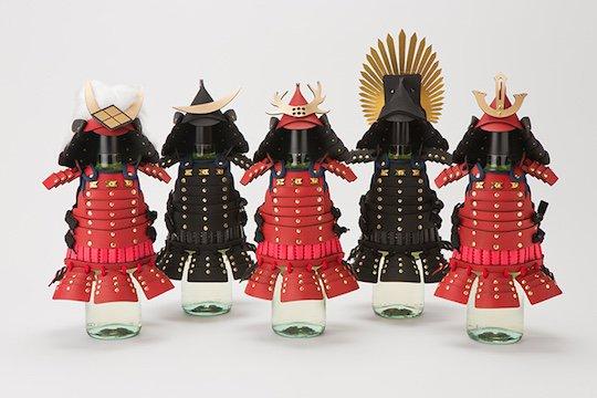 samurai-armor-wine-bottle-covers-1