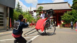 Paket Tour Wisata Becak di Asakusa Jepang