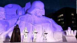 Nikmati Indahnya Patung Es yang Cantik dan Mewah Hanya di Sapporo Snow Festival Hokkaido