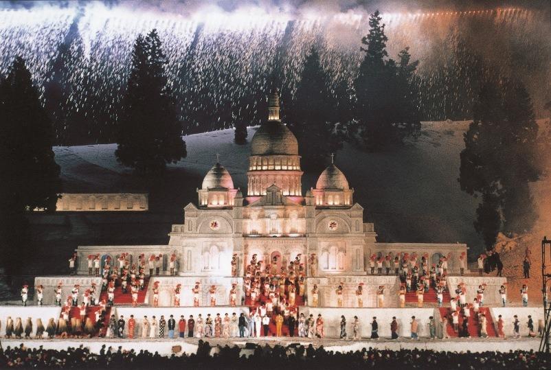 sapparo snow festival yuki matsuri di jepang foto utama