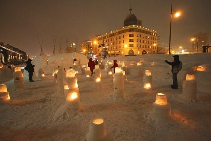 otaru snow fest