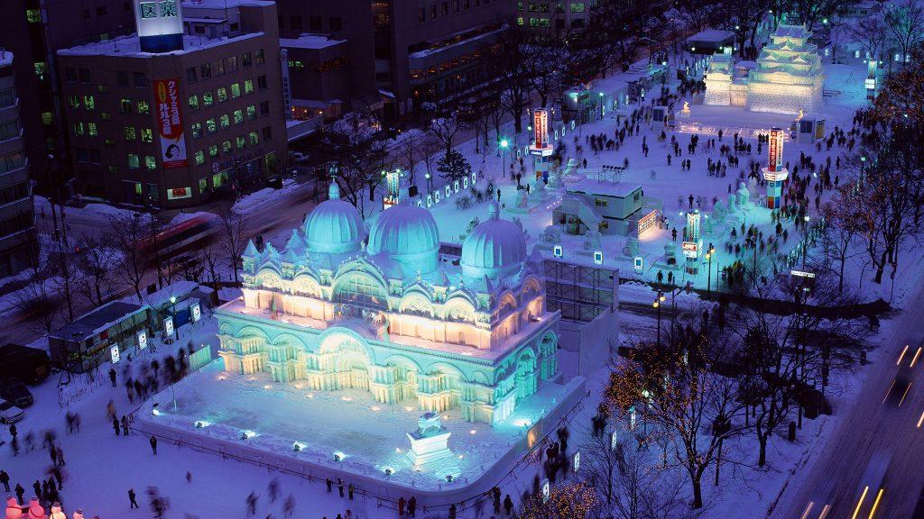 sapparo snow festival