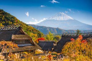 """""""Iyashi No Sato"""" Pesona Desa di Kaki Gunung Fuji Jepang"""