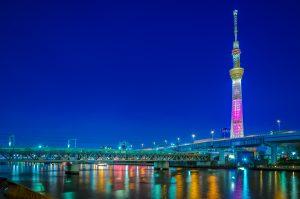 Nikmati Indahnya Kota Tokyo Dari Atas Tokyo Skytree Tower