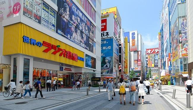 akhihabara street by akihabara by japan-guide.com