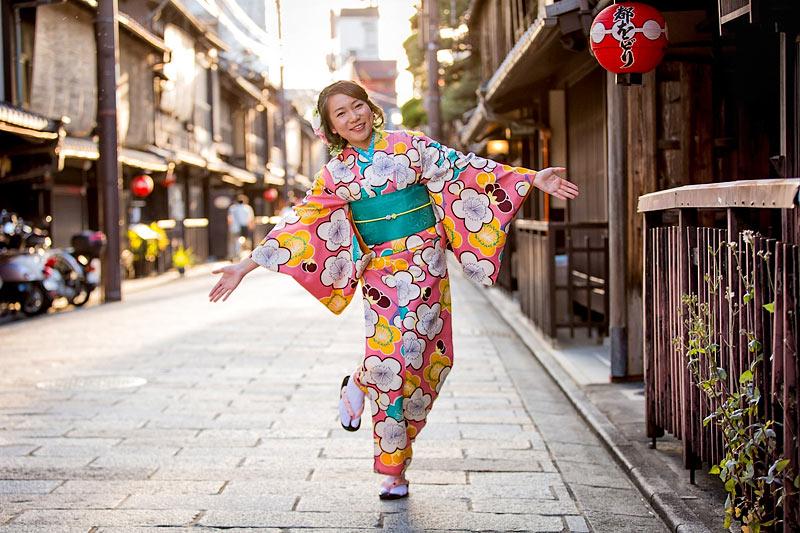 Gion Kyoto di Jepang