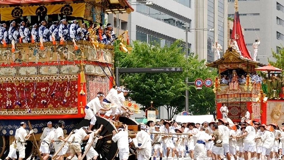 Gion Matsuri Festival di Kyoto Jepang