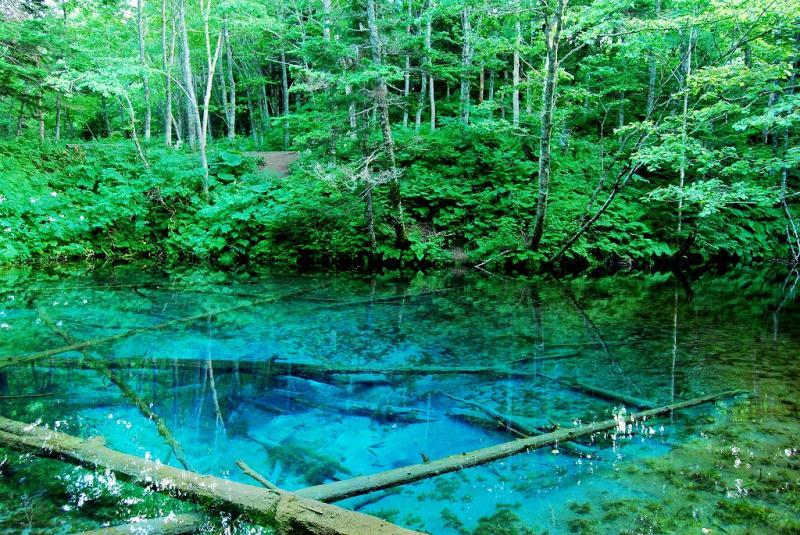 Kaminoko Ike Hokkaido Jepang