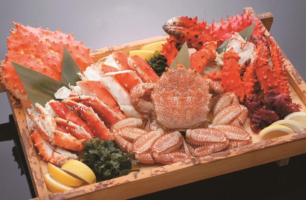 Kepiting Raja di Sapporo Hokkaido