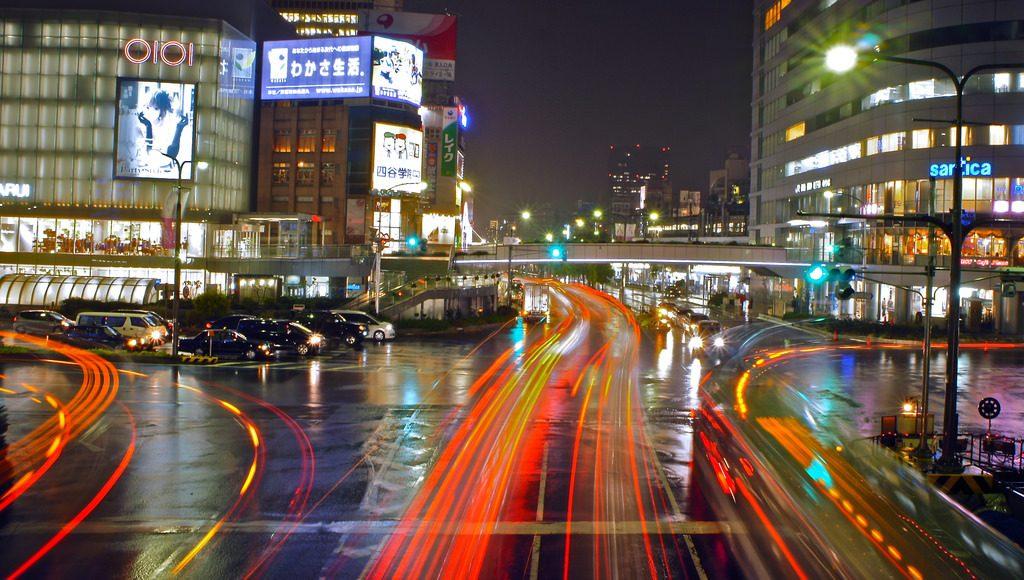 Sannomiya Kobe di Jepang