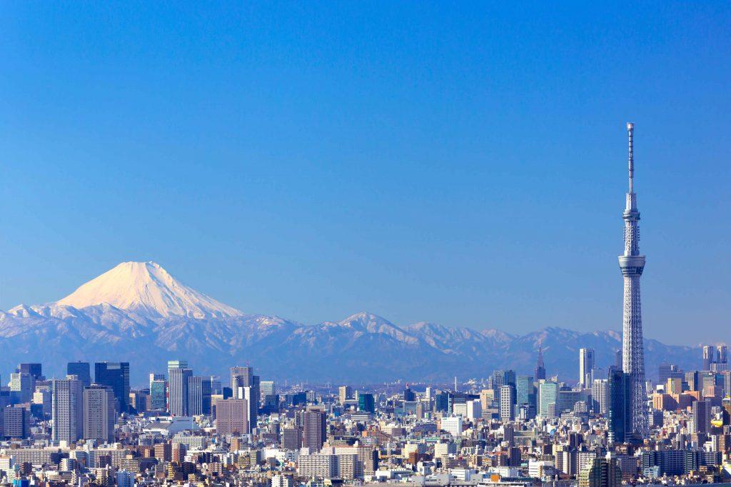 Tokyo Skytree di Tokyo Jepang