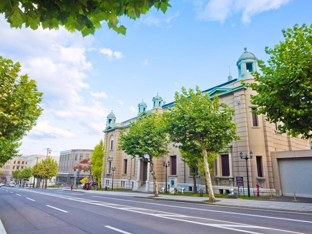 Museum Bank of Japan Otaru Hokkaido Jepang