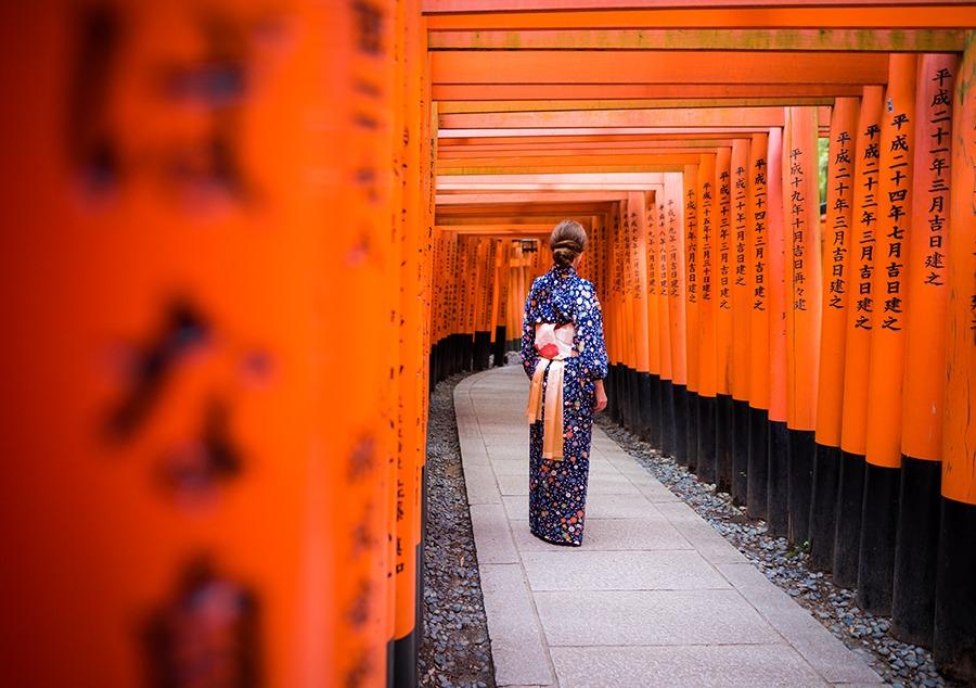 Best Spot Fushimi Inari Taisha Kyoto Jepang
