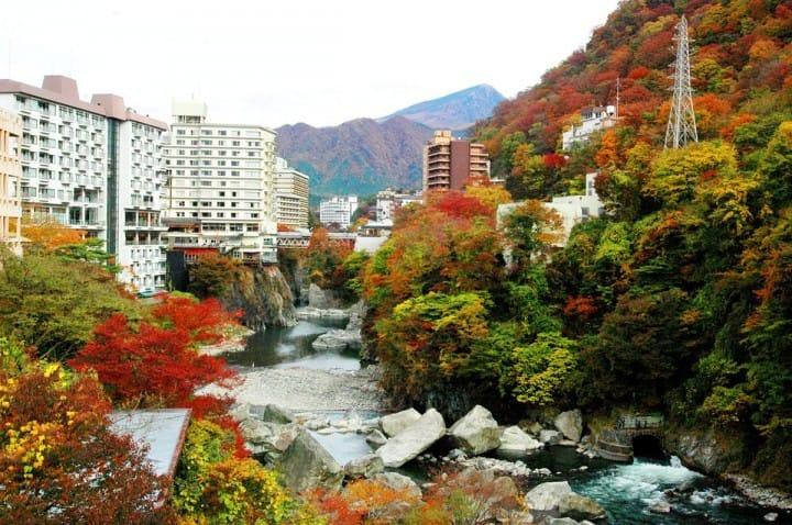 Kinugawa Onsen Nikko Jepang