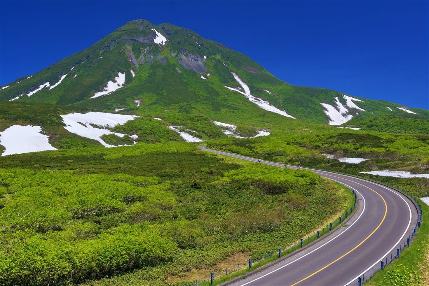 Shiretoko Pass Hokkaido Jepang
