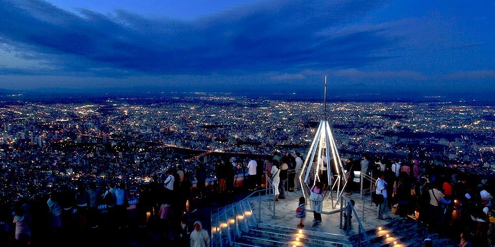 Tempat Wisata Gunung Moiwa Hokkaido