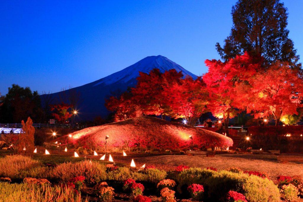 Festival Momiji di Kawaguchiko