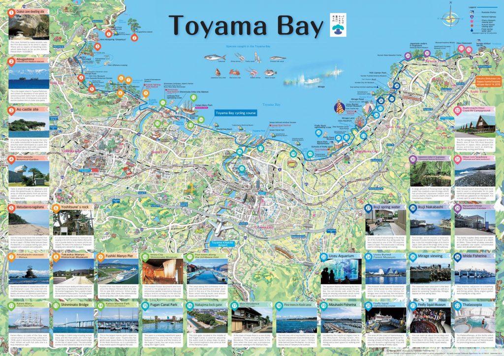 Peta Teluk Toyama
