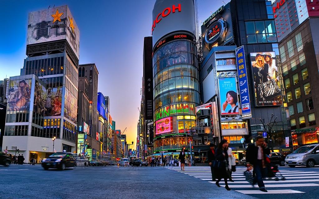 wisata jepang di ginza tokyo