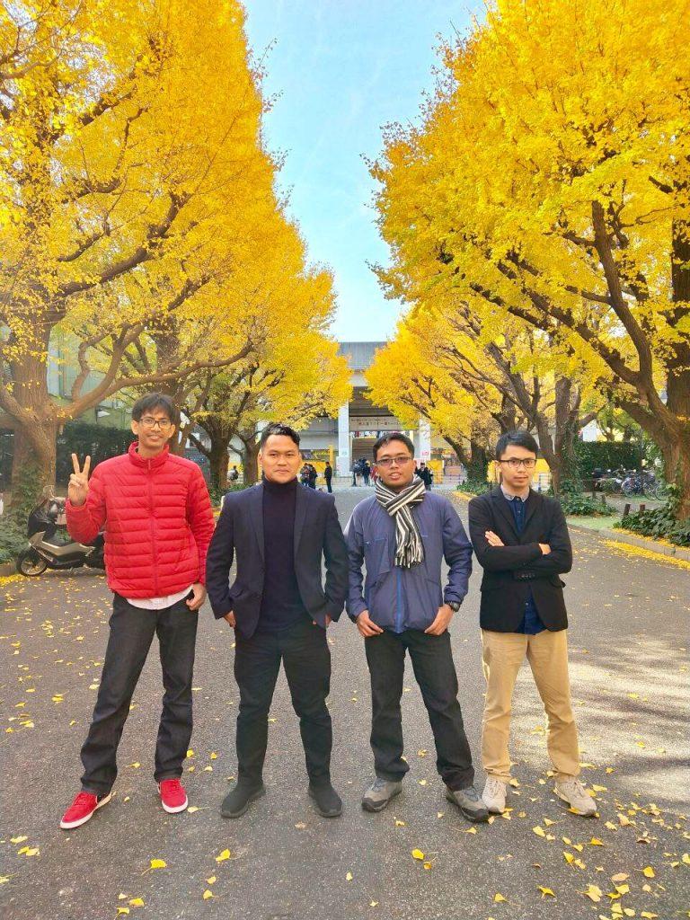 Team TourJepang.co.id Musim Autumn