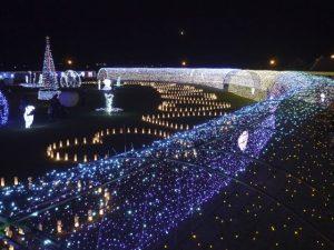 Indahnya Christmas Illumination yang Memukau di Jepang