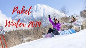 Paket Tour Jepang Winter Tokyo – Fuji 6 Hari 4 Malam 17 – 22 Desember 2019
