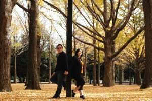 Menikmati Autumn di Yoyogi Park Tokyo dengan Jasa Fotografer @tourjepang